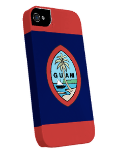 iPhone 5 Snap-On Case w/Traditional Guam Seal Motif - Left View