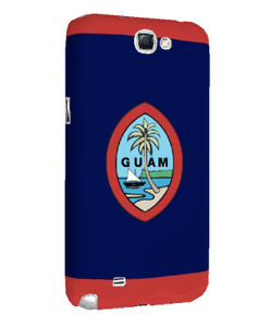 Samsung Note 2 Snap-On Case w/Traditional Guam Seal