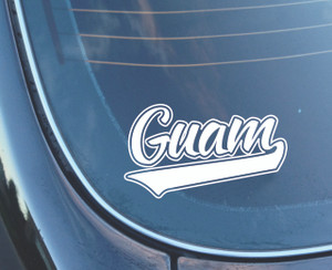 "Guam Sticker Decal - 7"" Wide"