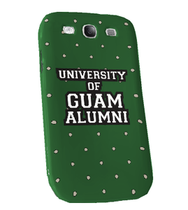 Samsung Galaxy S3 Snap On Case - University of Guam Alumni (Front View)