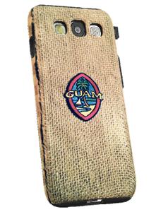 Guam Seal w/Chamorro Motif on Samsung Galaxy S3 Tough Case - Left View