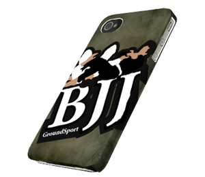 BJJ Grunge GroundSport iPhone 4 & 4s Case & Cover - Right View