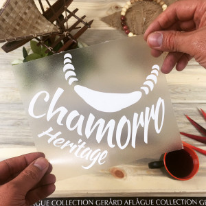 Chamorro Heritage Sticker Decal
