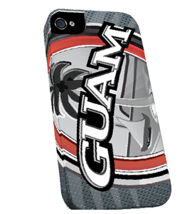 Ultra Modern Guam Seal Bi-Chrome iPhone Case