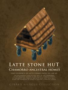 Fine-Art Poster of the Latte Stone Hut - 18x24