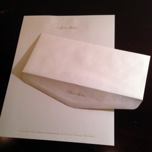 Guam/CNMI Si Yu'os Ma'ase Business Stationary & Envelope - 15 Pc Set