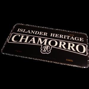 "Guam/CNMI Islander Heritage Chamorro License Plate Frame - 6""x12"""