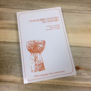 Chamorro English Dictionary Book