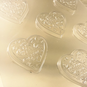 Hu Guaiya Hao (I Love You) Chocolate, Butter, & Gelatin Plastic Mold