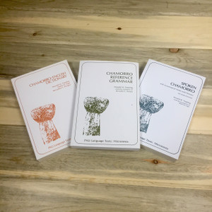 University 3-Book Chamorro Language Set