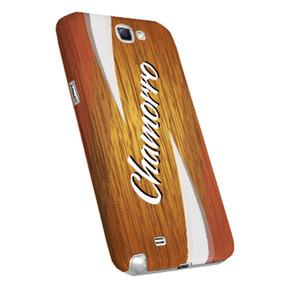 Chamorro on Wood Motif Case for Samsung Phone Models