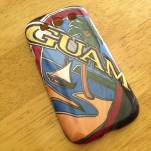 Samsung S3 Case w/ Modern Guam Seal Swatch Motif