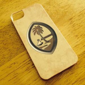 Brown Guam Seal Motif on Various iPhone Cases