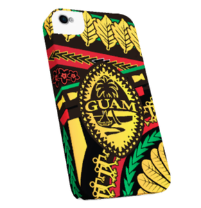 Rasta Tribal Guam Seal Case for iPhone Model Phones
