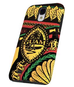 Rasta Tribal Guam Seal Case for Samsung Model Phones