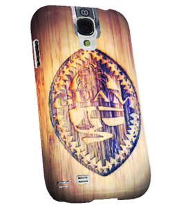 Etched Traditional Tribal Guam Seal Pattern Samsung Cover