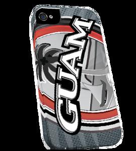 Ultra Modern Guam Seal Bi-Chrome iPhone Case