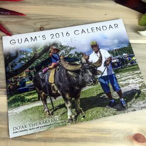 2016 Scenic Guam Calendar by Rueben Olivas Cover
