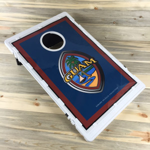 10-Pc Guam Corn Hole Game