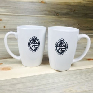 White Tribal Guam  2-pc Mug Set
