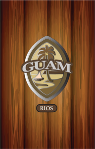 Personalized Wood Guam Seal Samsung Phone Case