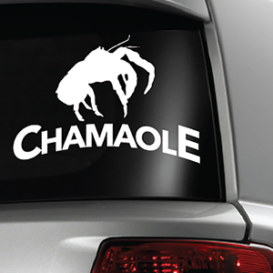 Chamaole Coconut Crab White Sticker Decal 6x6