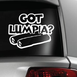 Got Lumpia Guam CNMI Phiippines White Sticker Decal 6x6