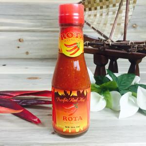 Rota Hot Chili Sauce - Pacific Red Hot - 5 oz