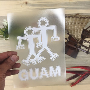 Guam Cave Drawing Sticker Decal