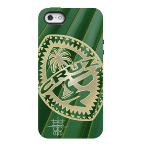 Personalized Tribal Guam Seal on Palm - All Models