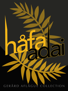 Hafa Adai Palm Poster