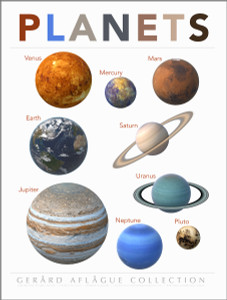 High Quality Print: Teacher Created Planets Classroom Poster - 18x24