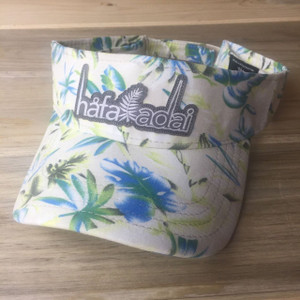 Hafa Adai Lime Floral Guam & CNMI Visor Hat