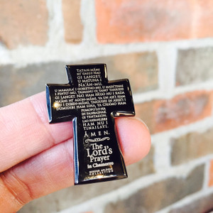Chamorro Lord's Prayer Magnetic Lapel Pin