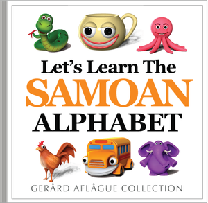Let's Learn the Samoan Alphabet Book
