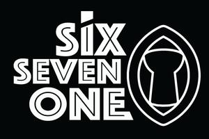 Six Seven on 671 Guam Latte Sticker Decal