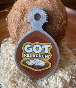 Ikamyu Hand-held Got Kelaguen Coconut Grater