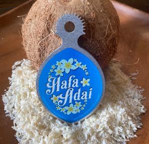 Ikamyu Hand-held Hafa Adai Coconut Grater