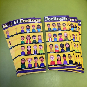 Feelings Student Prompt Cards and Bookmarks- 35 pcs