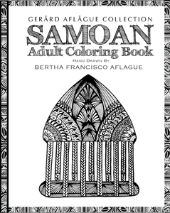 Samoan Adult Coloring Book