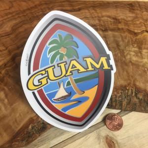 Dope Decals - Modern Guam Seal