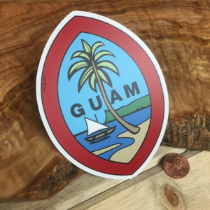 Dope Decals - Traditional Guam Seal