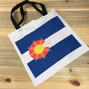 Colorado Flag Logo Lightweight Tote