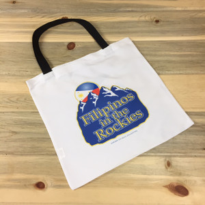 Filipinos in the Rockies Logo Lightweight Tote