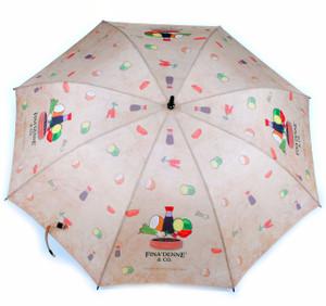 Finadenne and Company Tribe Brand 54 Inch Umbrella (Guam and CNMI Chamorro)