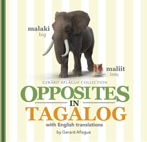 Opposites in Tagalog Softcover Book