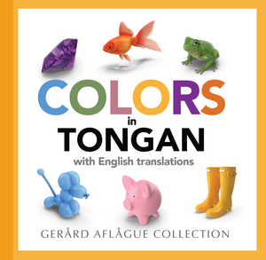 Colors in Tongan Softcover Book