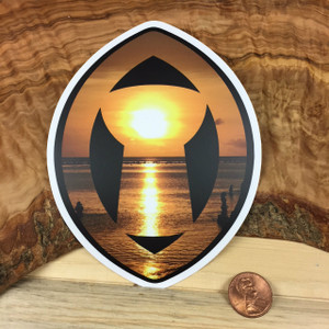 Latte Stone Sling (Guam and CNMI) Colored Dope Sticker Decal