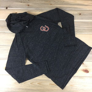 Light-Weight GU (Guam) Unisex Charcoal Triblend Hoodie