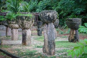 Latte Stone Park, Guam Photograph - 24x36